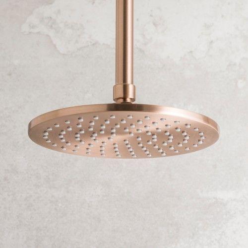 Strata Shower Rose 200mm Rose Copper
