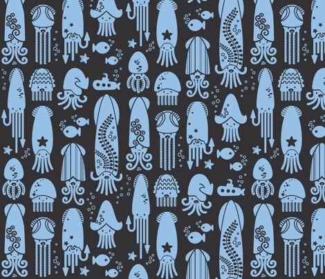 #squid fabric