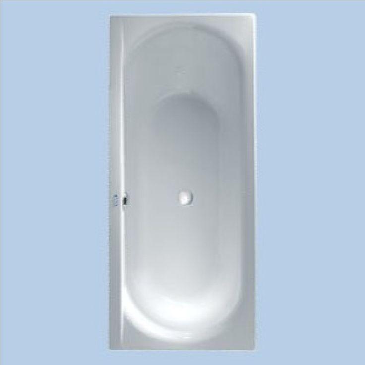 Duscholux Smart line Baignoire rectangulaire 160x70cm Blanc - 611034000001 - Magasinsalledebains.be