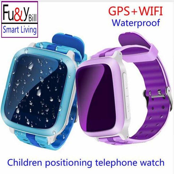 Smart Phone GPS Watch Children Kid Wristwatch DS18 GSM GPS WiFi Locator Tracker Anti-Lost Smartwatch Child PK Q80 Q90 V7K Q50