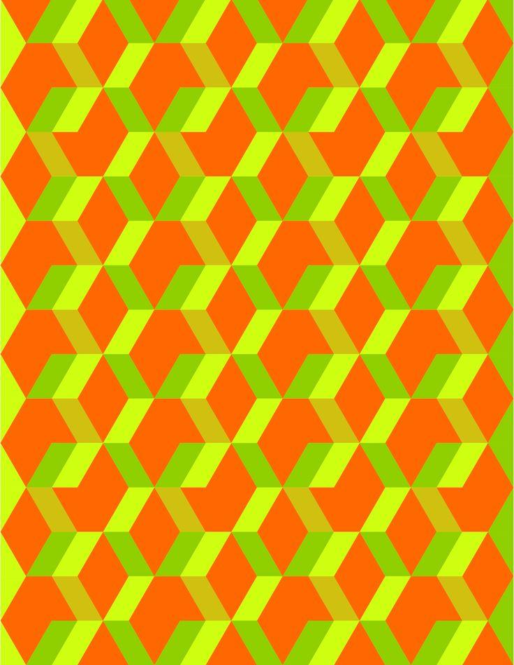 dise o geom trico jugando a crear formas colores