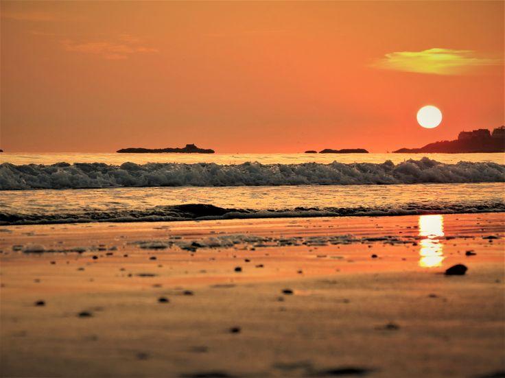 Le levé de soleil à Nantasket (photo personnelle)