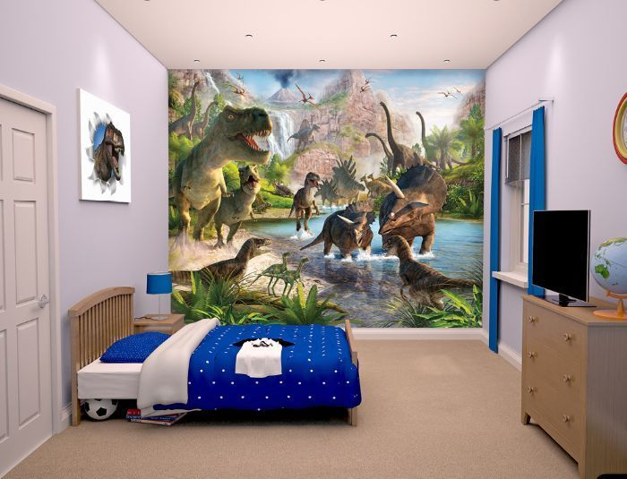 Large size wallpaper mural for boy's and girl's room. Paper wallpaper ideas. Worldwide shipping. Free UK delivery.