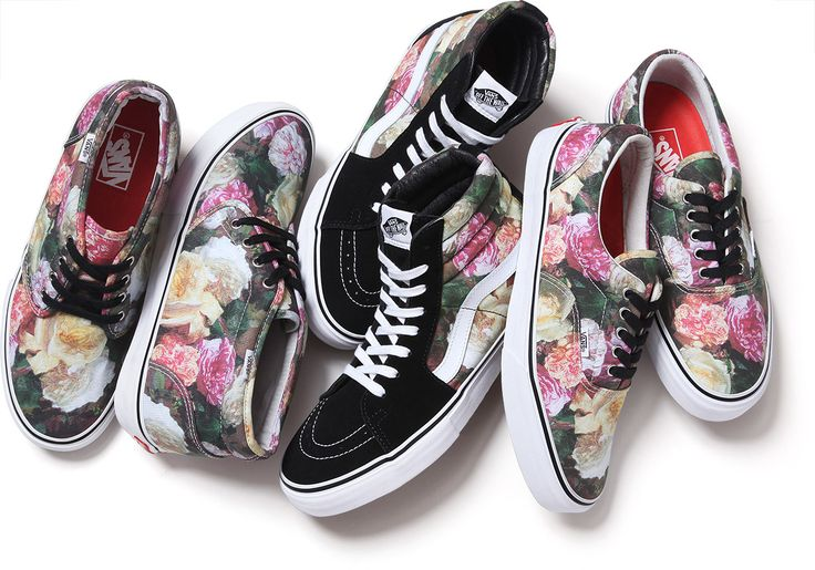 """Supreme x Vans 2013 Spring/Summer """"Power, Corruption and Lies"""" Collection"""