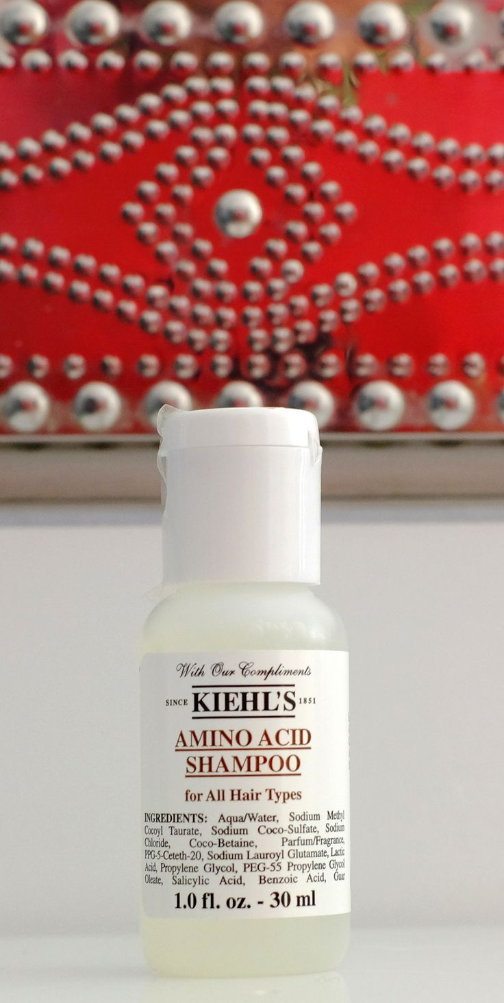 Kiehl's Hotelkosmetik - Hotel Guest Amenities at the Rosewood Hotels München & The Carlyle Hotel in New York • Kiehls Amino Acid Shampoo