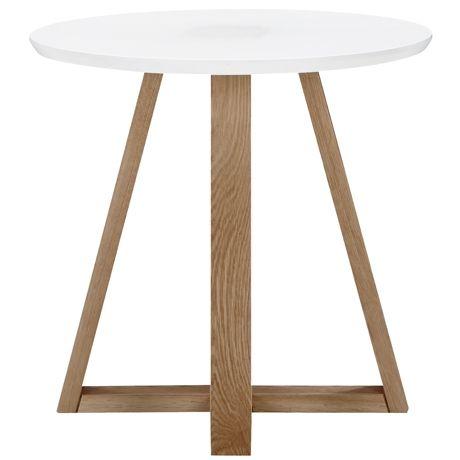 Hansel Side Table http://www.freedom.com.au/furniture/living/side-tables/23434738/hansel-side-table-white/
