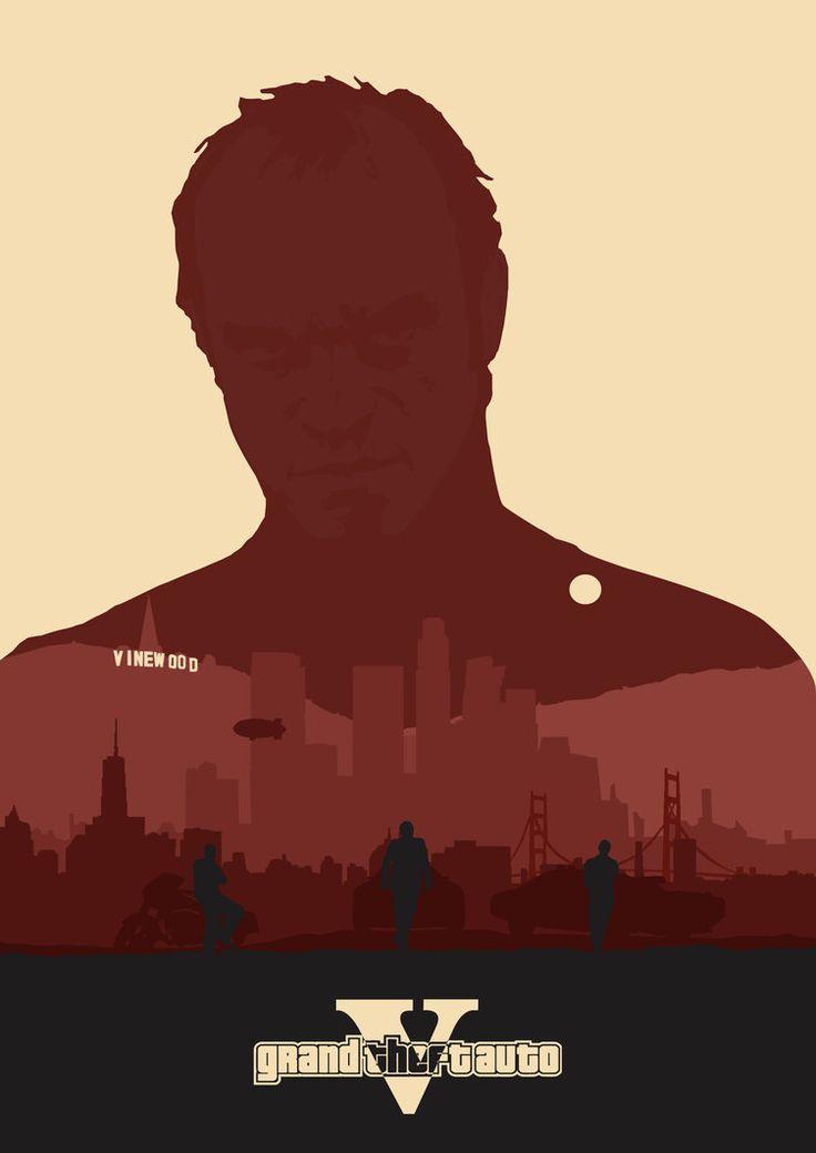Grand Theft Auto - Trevor Philips by lewisdowsett on DeviantArt