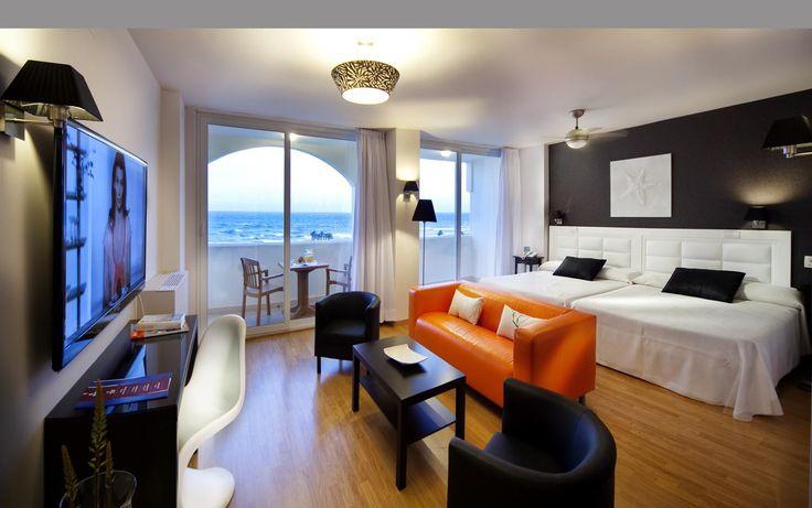 Daya in Zoraida Garden Hotel  #lighting #ESPdesign #eltorrent #lamps #decor #light #contract #private #hanging #hotel #bedroom #views #sea