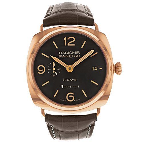 awesome Panerai PAM00395 Radiomir 8 Days GMT Oro Rosso Men's Watch just added...