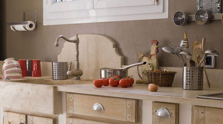 ambiance vier cr dence plan de cuisine en pierres de bourgogne le comptoir des pierres. Black Bedroom Furniture Sets. Home Design Ideas