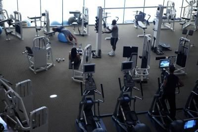gym workout how many reps