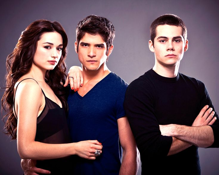 teen wolf crystal reed, tyler posey, dylan o'brien
