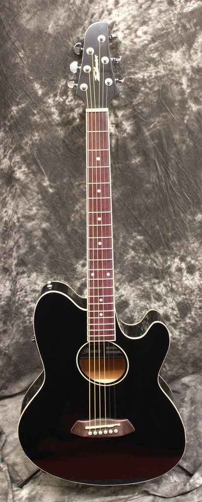 Ibanez Talman Tcy10e Black Acoustic Electric Guitar Guitars