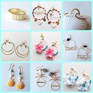 * * オーダー品です♡ ありがとうございました。 webにバングルやリングなどupしたので、是非ご覧ください♡ * * #ハンドメイド #ハンドメイドジュエリー #ハンドメイドピアス #ハンドメイドアクセサリー #handmade  #handmadejewelry  #hawaiianjewelry #handmadeaccessory  #beachjewelry #ワイヤー #ワイヤージュエリー #ワイヤーアクセサリー #ワイヤーピアス #ビーチアクセサリー #ビーチジュエリー #ハワイアンアクセサリー #ハワイアンジュエリー #サンライズシェル #海を感じるアクセサリー