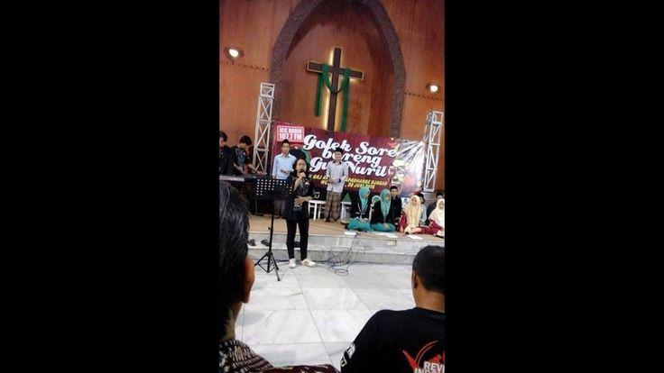 Parah !!! Adzan dicampur Kidung Kristen di Gereja ada Tanda Salib di ceramah Gus Nuril