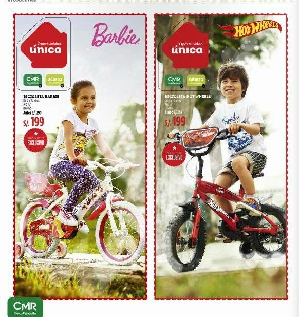 Bicicletas en Ofertas / Regalos de Navidad 2014 Saga Falabella