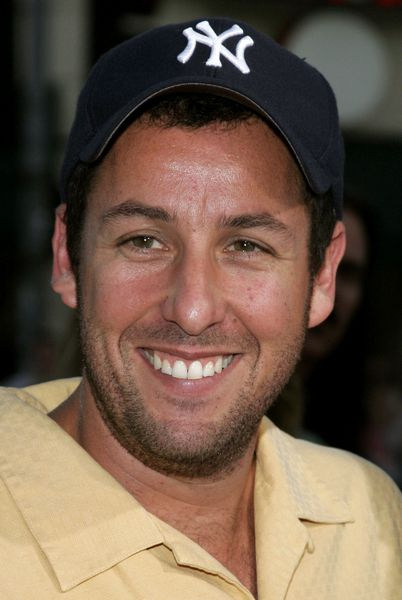 Adam Sandler - I adore this guy! We're friends on FB but wish it was IRL.  I'm sure there's never a dull moment with him around.