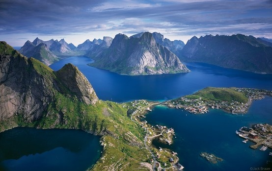 Maybe I should go here...Norway