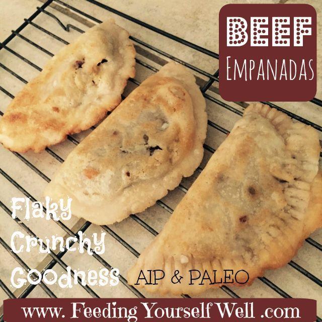 AIP - Paleo - Beef Empanadas - www.FeedingYourselfWell.com