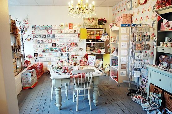 Interior of Bow Boutique, Matlock, Derbyshire. This shop smells so good, it'll smell even better once the Teashop opens up, woo hoo!