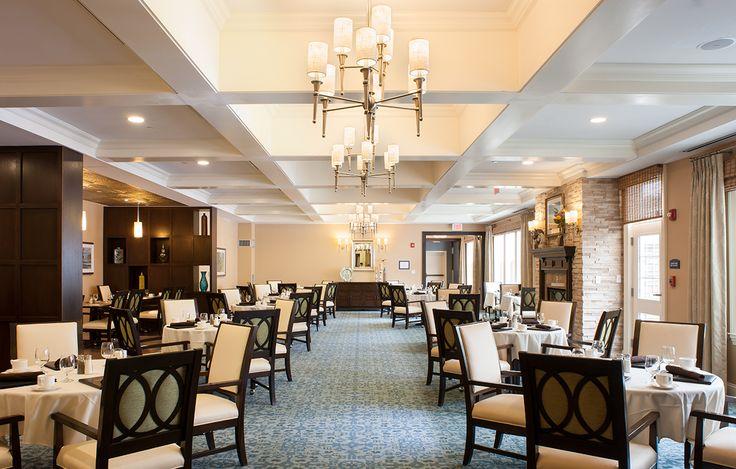 86 best senior living design images on pinterest senior for Senior living dining room