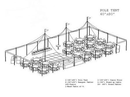 25 best images about tents reception dinner layouts on for Wedding tent layout design