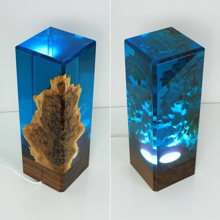 Clear blue resin decor! More coming next week!  Which color would you like to see next?