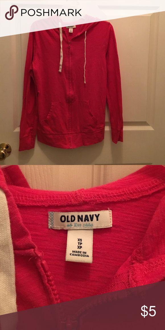 Women's Old Navy zip up jacket xs Women's Old Navy zip up jacket xs Old Navy Tops