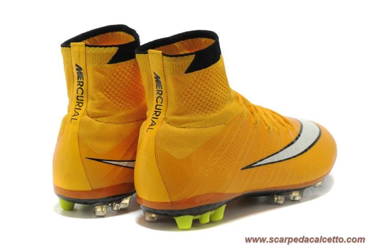 Nike Mercurial Superfly X AG ACC Giallo/Bianco Uomo palloni da calcio