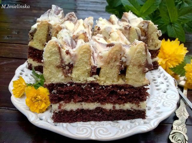 """Domowa Cukierenka - Domowa Kuchnia: ciasto """"góra lodowa"""""""