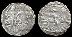 """Coins of Vlad the Impaler, the real """"Count Dracula""""."""