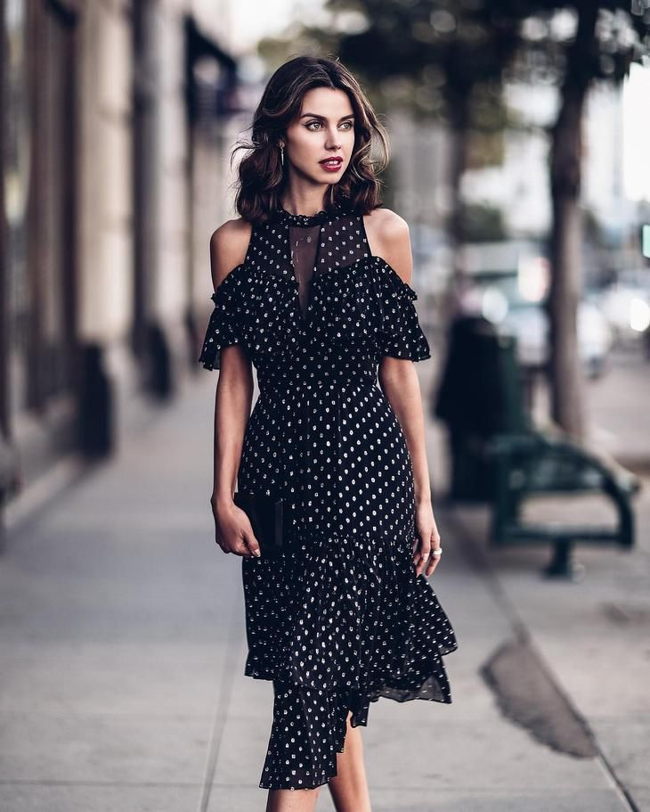 Модные платья весна-лето 2018  популярные фасоны и 30 потрясающих вариантов efad2a80e81