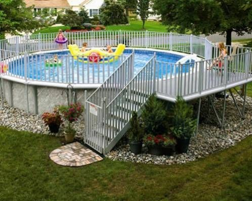 94 best images about above ground pool landscaping on pinterest portable pools decks and. Black Bedroom Furniture Sets. Home Design Ideas
