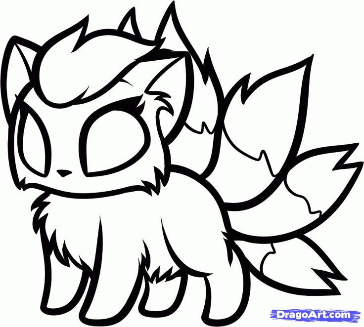 pokemon chibi coloring pages - photo#19