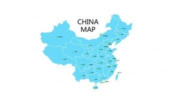 【中国地图-可编辑】免费下载-精确到省会