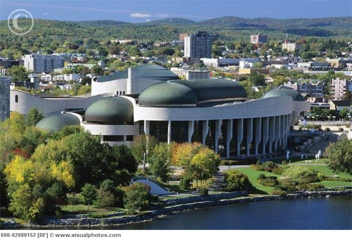 Museum of Civilization in Hull, Quebec
