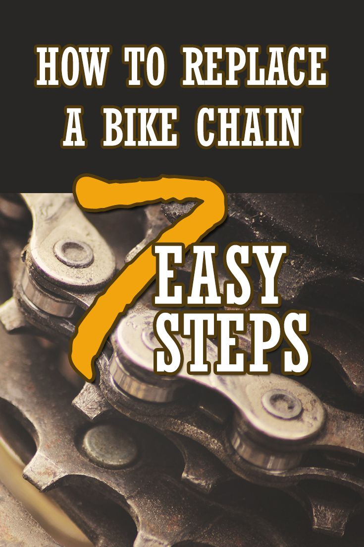 How To Replace A Bike Chain 7 Easy Steps Bike Chain Bicycle