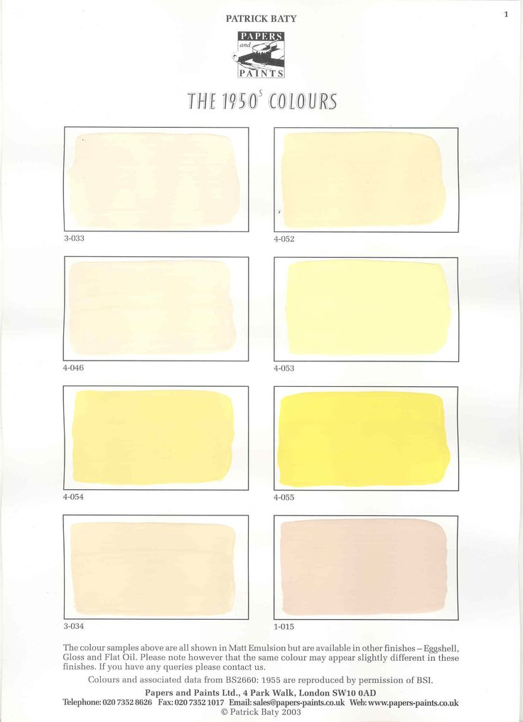 Paint Name 107 best mid-century paint colours images on pinterest | colors