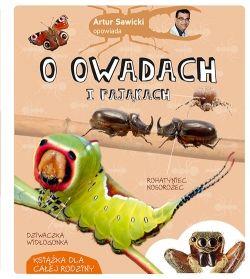 Artur Sawicki opowiada o owadach i pająkach - Multicobooks.pl