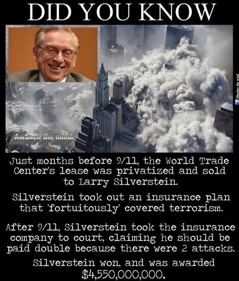Will Larry Silverstein ever be brought to justice for 9/11 insurance fraud? by Dr Kevin Barrett – Darkmoon