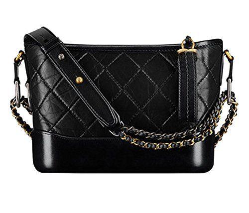 22b48b9eff Ecokaki Recycled Leather Shoulder Bag Sling Bag Crossbody Bag for Women  Black