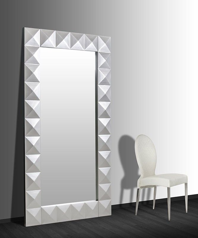 Eva LS544 Modern Large Floor Mirror - Mirrors - Accents