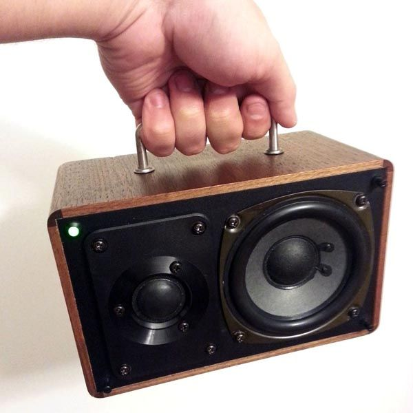 Handmade Retro Hi-Fi Portable Speaker