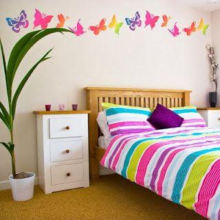 Habitaciones con mariposas