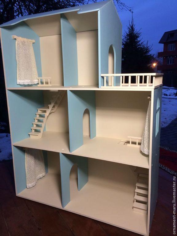 Кукольный дом ручной работы. Ярмарка Мастеров - ручная работа Кукольный домик №5. Handmade.