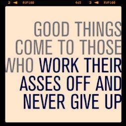 Hard werken loont! #workaholic