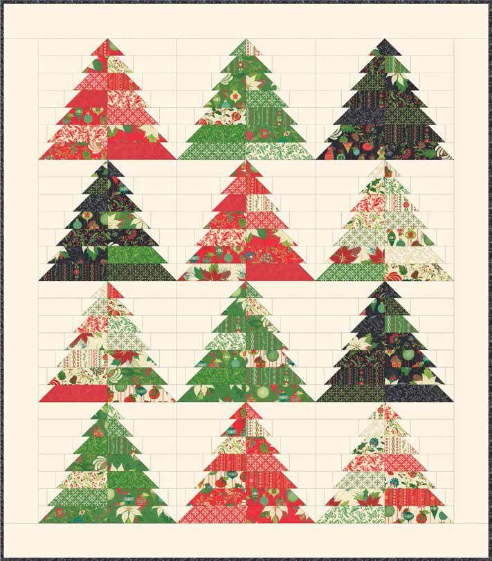 Quilting Patterns Xmas Free : Best 25+ Christmas tree quilt ideas on Pinterest