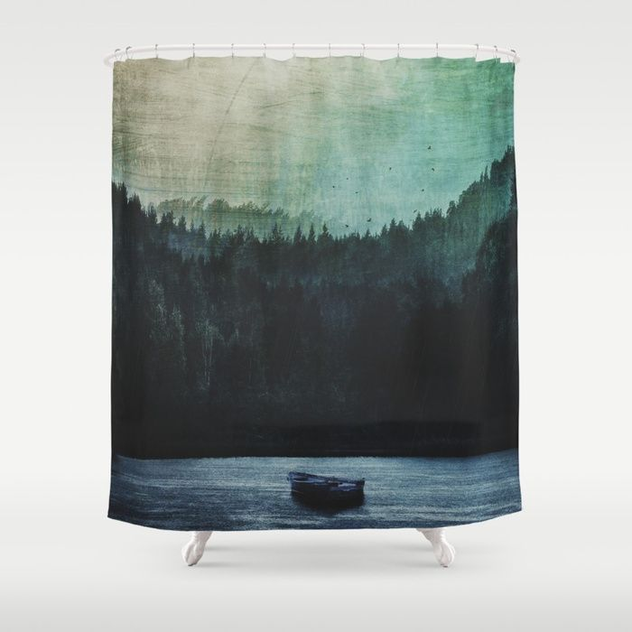 Great mystical wilderness Shower Curtain by HappyMelvin | Society6