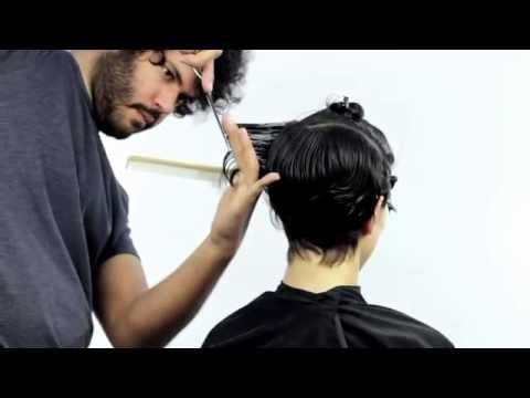Corte de pelo corto para mujer paso a paso - Short haircut for women - YouTube
