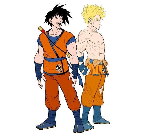 Artista recria personagens de Dragon Ball com os traços de filmes da Disney! - Legião dos Heróis